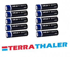 Bateria do sondy Heavy Duty 10szt.